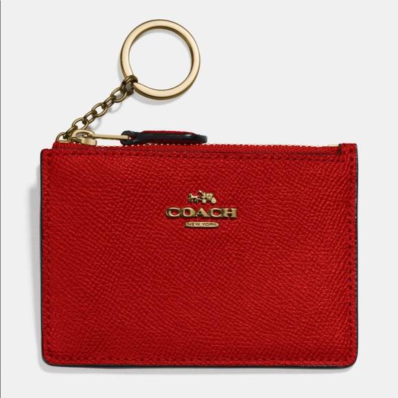 Coach Handbags - Coach Keychain Skinny Wallet-Gently Used
